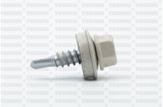 Katusekruvi SD 3 puurots 4.8x19 RR30/RAL1013 Ruspert