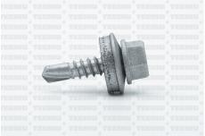 Katusekruvi SD 3 puurots 4.8x19 RR40/RAL9006 Ruspert