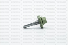 Katusekruvi SD 8 puurots 5.5x25 Ruspert RR36/RAL6021