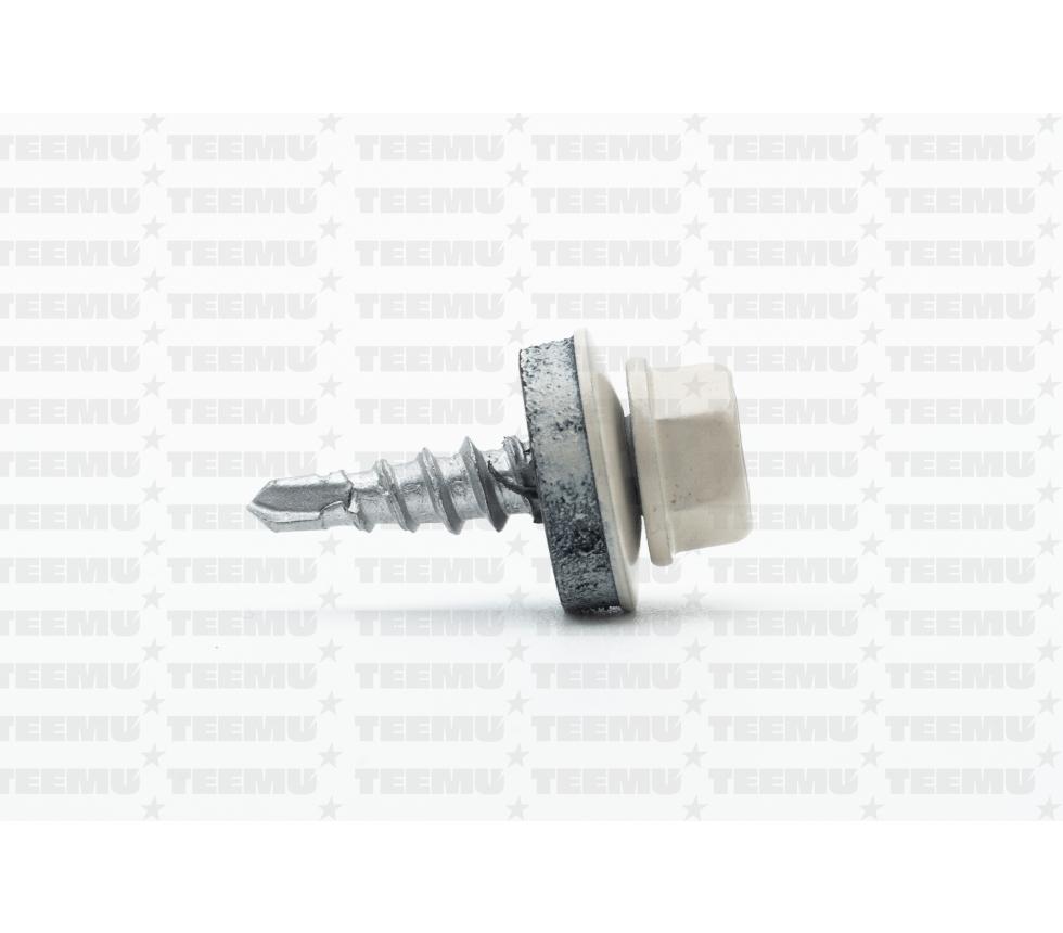 Katusekruvi puurots ülekatte 1.5mm 4.8x20 RR30 Zn