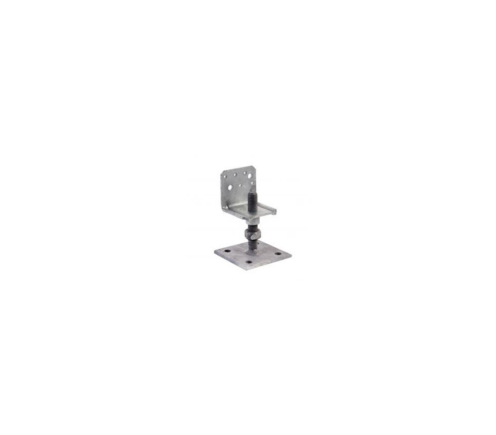 Reguleeritav jalg M 16x100/80x80/x90x90x4.0 PLB80/90G-B 4042000