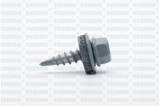 Katusekruvi puurots ülekatte 1.5mm 4.8x20 RR22/RAL7001 Ruspert