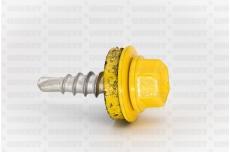 Katusekruvi puurots ülekatte 1.5mm 4.8x20 RR25/RAL1003 Ruspert