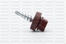 Katusekruvi puurots ülekatte 1.5mm 4.8x20 RR28/RAL3011 Ruspert