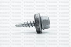 Katusekruvi puurots ülekatte 1.5mm 4.8x20 RR40/RAL9006 Ruspert