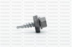 Katusekruvi puurots ülekatte 1.5mm 4.8x20 RR41/RAL9007 Ruspert