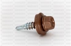 Katusekruvi puurots ülekatte 1.5mm 4.8x20 RR43 Zn