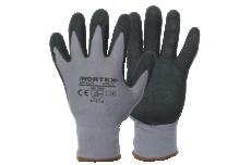 Kindad WORTEX nailon/spandex sõrmikud nitriilkattega XL/10  6280
