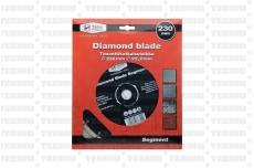 Teemant lõikeketas 125mm turbo