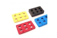 Paneelipaigaldus plaat 15mm  must  80x50 (7052)